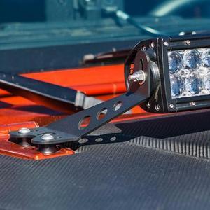 Image 2 - ติดตั้งสำหรับ Jeep Wrangler JK 2007 2017 ติดตั้ง 20 22 นิ้ว LED ตรง Work Light Bar