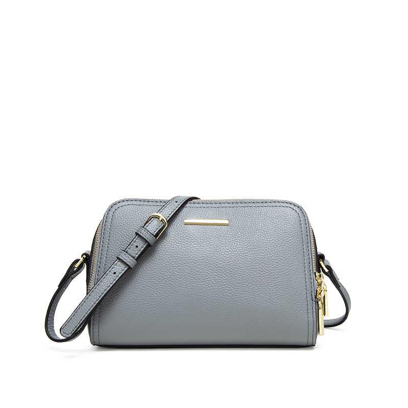 78fb57a480df ... JIANXIU женская сумка из натуральной кожи женская сумка через плечо  сумки для женщин кошелек Личи Текстура ...