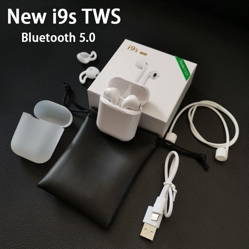 Nuovo i9s TWS 5.0 aria auricolari Senza Fili Auricolare Stereo pod mini tws i9s auricolari Bluetooth aria per iphonex xs max baccelliNuovo i9s TWS 5.0 aria auricolari Senza Fili Auricolare Stereo pod mini tws i9s auricolari Bluetooth aria per iphonex xs max baccelli