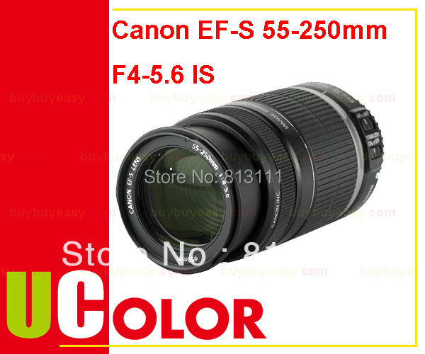 Canon EF S 55 250mm f 4 5 6 IS II Lens For 70D 700D 1300D