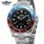 Marca de luxo pulseira de couro auto vento Mecânico automático Relógios mens relógios top marca de luxo relogio masculino Relógio de Pulso