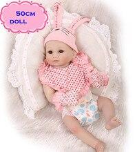 NPK New Lovely Rabbit Baby Full Silicone Reborn Babies Dolls Toys The Best Birthday Present Gift For Kid Child Bathe Shower Toys