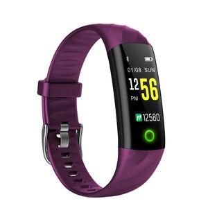 Image 5 - SENBONO pulsera inteligente S5 Bluetooth IP68, con control del ritmo cardíaco y de la presión sanguínea, resistente al agua y con Monitor de oxígeno, seguidor de actividad