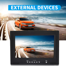 VEHEMO 9Inch Car TV Reverse Monitor Car Monitor Portable Screen LCD USB/SD Card Speaker 32G Car Radio player FM Music Styling