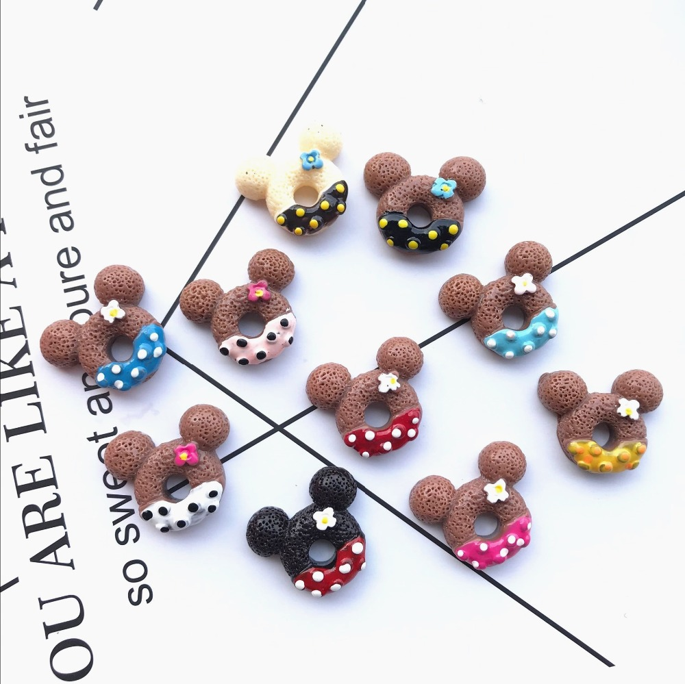 Best Top Kawaii Flat Back Resin Donuts Cabochon Near Me And Get