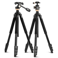 QZSD Q338 Professional Portable Travel Aluminum Camera Tripod