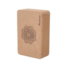 Yoga Block Natural Cork Eco-Fridenly High Density Slipstark Dance Pilates Ben Press Yoga Brick Yoga Utrustning