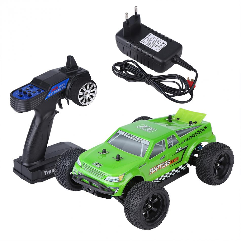 2Types 1/16 Remote Control Four-Wheel Drive RC Truck Model Vehicle Toy High Quality Brushless Remote Control Car Trunk