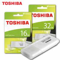 TOSHIBA U202 Flash USB 64GB Pen Drive 32GB Pendrive USB2.0 Flash blanco disco MemoryStick U202 Usb Pendrive