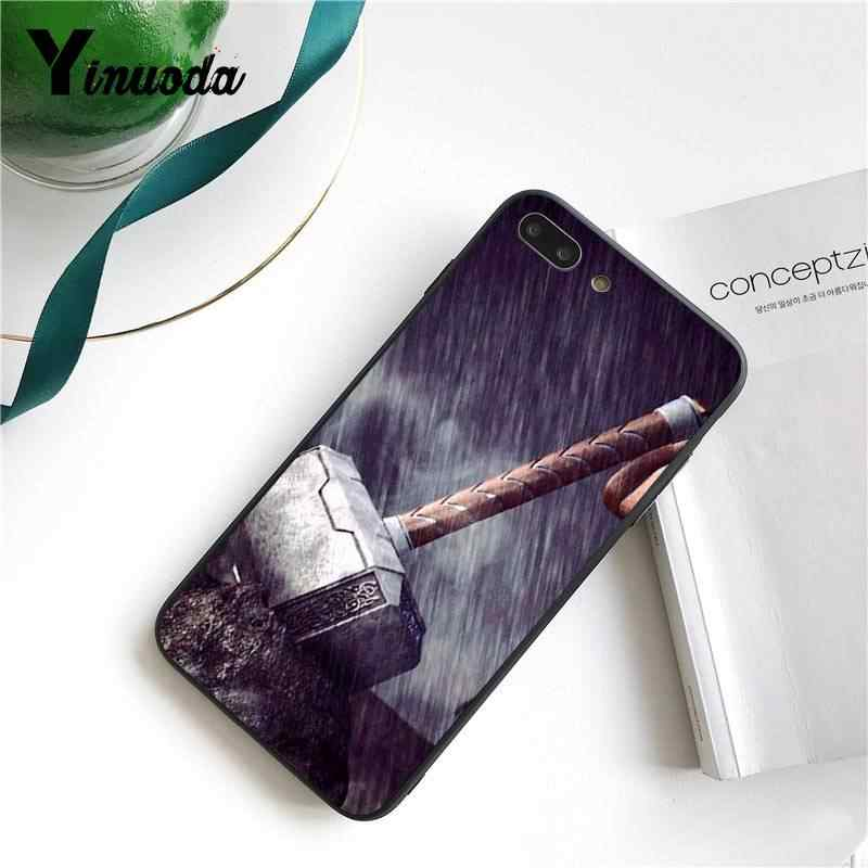 Yinuoda Verbazingwekkende Marvel Superman Gif Shield Spiderman Telefoon Case Voor Iphone 8 7 6 6S 6Plus X Xs max 5 5S Xr 11 11pro 11 Promax