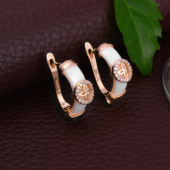 Ceramic Stud Earring