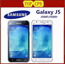 Hot selling original unlocked refurbished Samsung Galaxy J5 J500F J500H  8GB ROM,1.5GB RAM Mobile phone free shipping