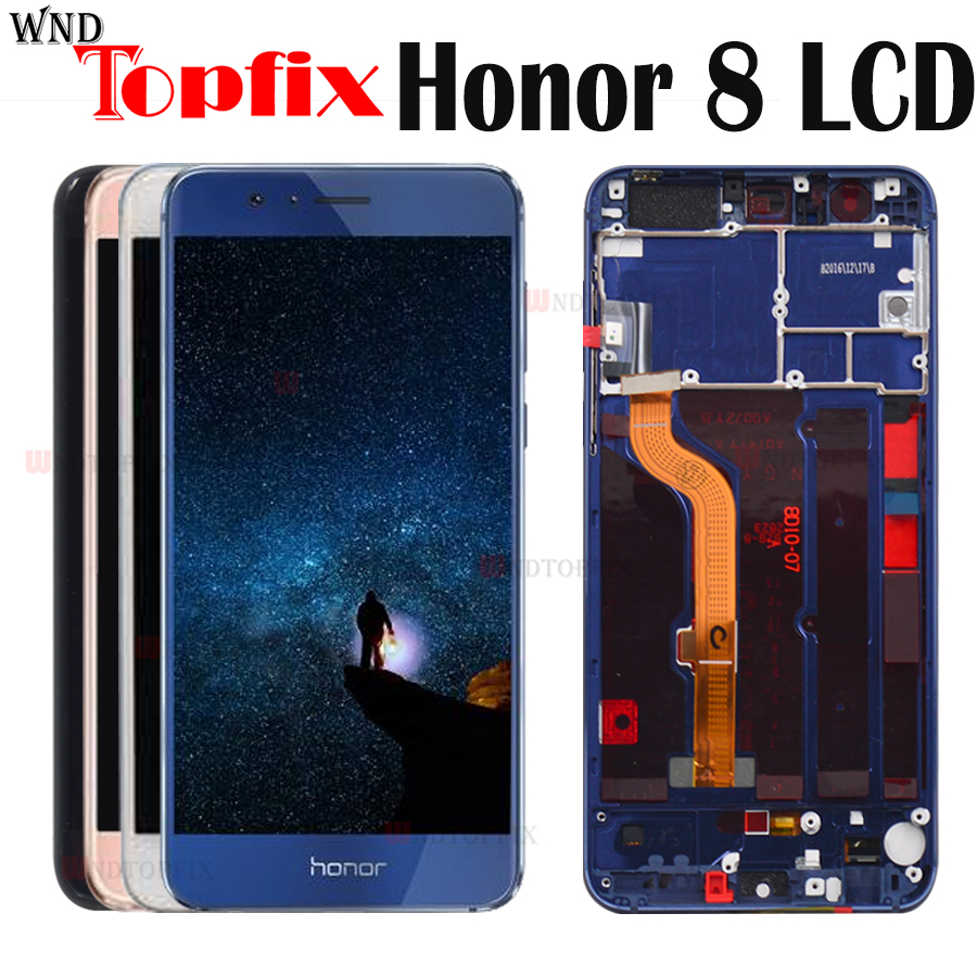 Honor8 LCD Lcd-Display Touch-Screen Frd-L09-Replacement FRD-L19 Digitizer Frame Huawei