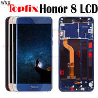 "Huawei Honor 8 LCD Display Touch Screen Digitizer Honor8 LCD For 5.2"" Huawei Honor 8 LCD With Frame FRD-L19 FRD-L09 Replacement"