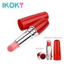 IKOKY Vibrator Hot Mini Secret Lipstick Vibrator Vibrating Jump Egg Waterproof Bullet Massage Sex Toy for Women Adult Product