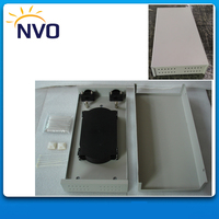 FTTH Small Size Fiber Optical Terminal Box 24core Metal material with Plastic Splice Tray