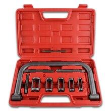 Клапан пружинный компрессор комплект инструмент установки удаления набор установщик инструмент для удаления автомобиля Ван мотоцикл