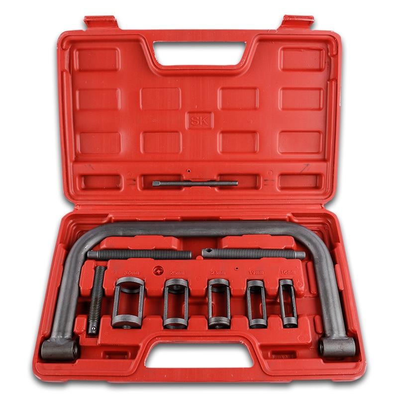 Valve Spring Compressor Kit Removal Installer Tool set Installer Removal Tool For Car Van Motorcycle
