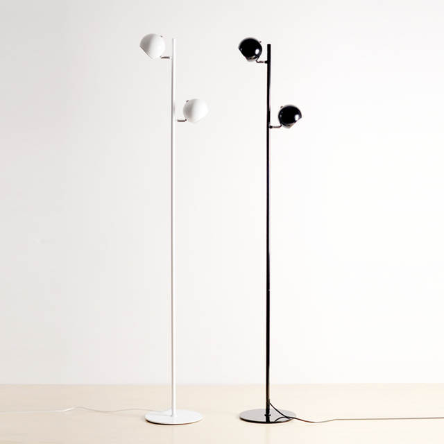 Online Shop Modern Floor Lamp Double Light Black White Table Lamp