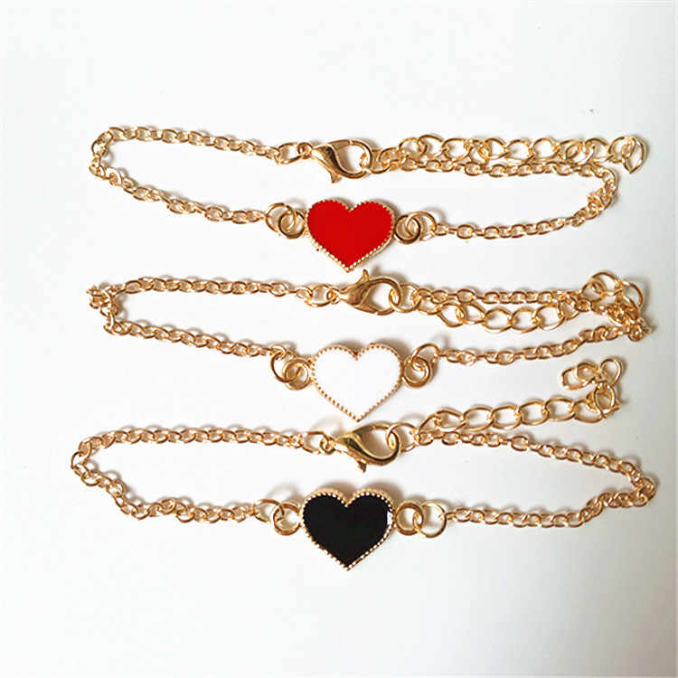 2018 None Real Limited Chain & Link Bracelets Pulseras Unisex Toggle-clasps Korean Style Love Clover Butterfly Bangle Bracelet