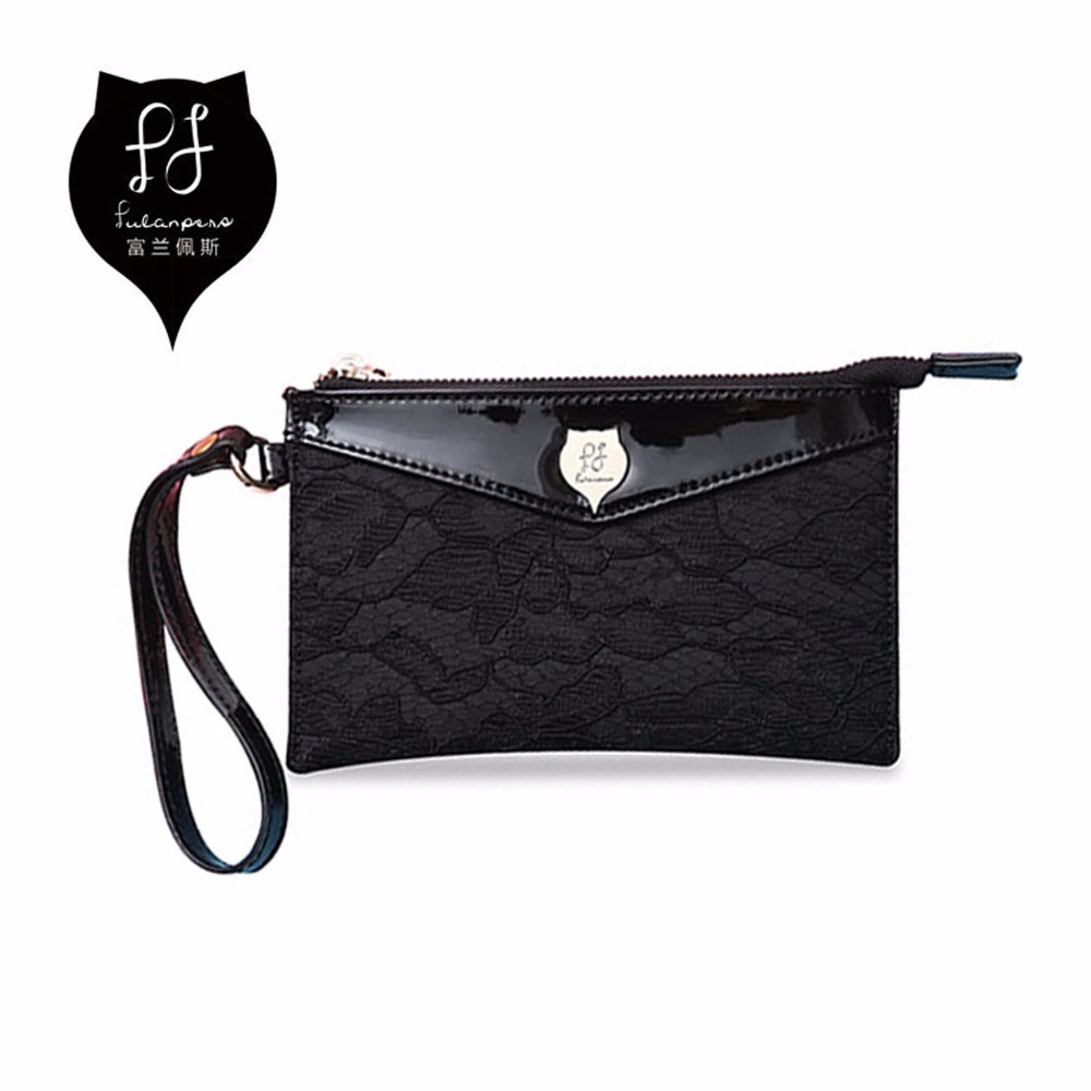 FULANPERS Girls Lace Coin Purses Women Small Purchase Coin Pouch Female Change Purse Ladies Clutch Bag for Key Card Phone