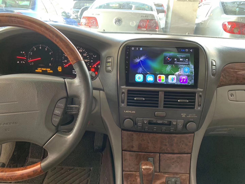 LiisLee Car Multimedia GPS Hi-Fi Audio Radio Stereo For Lexus LS430 XF30 2000~2006 Original Style Navigation NAVI