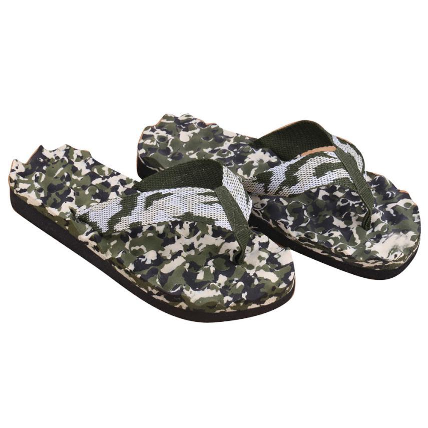 e3d53202c469 2018 men slippers beach shoes summer Camouflage Flip Flops Shoes ...
