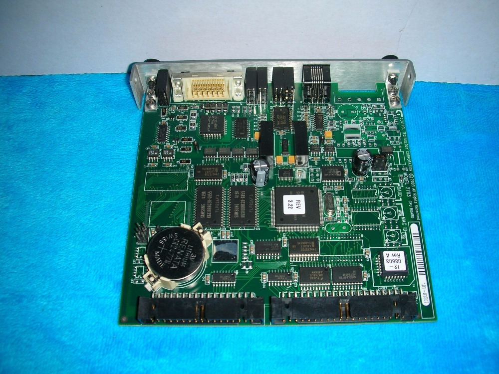 1PC USED Control Technology Corporation 2703AP CPU Board1PC USED Control Technology Corporation 2703AP CPU Board