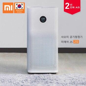 2019 Xiaomi Mi очиститель воздуха 2 S Diy умный очиститель воздуха удалить Формальдегид/дымка/Dusy приносить свежий воздух приложение управление