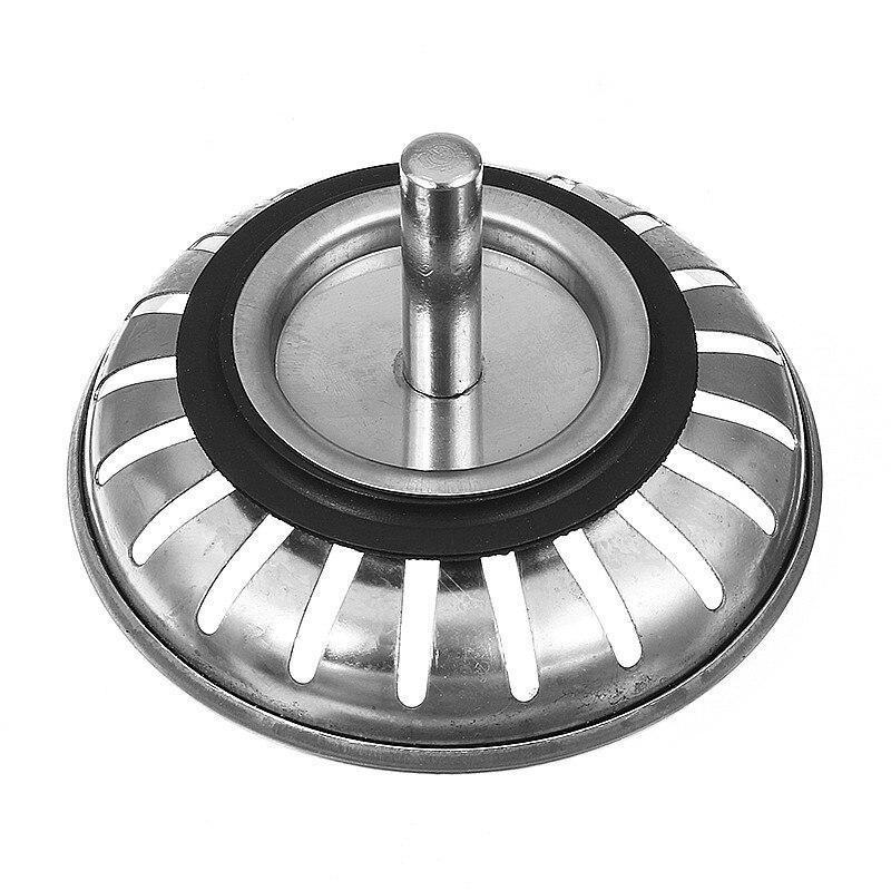 Stainless Steel  Kitchen Sink Strainer Stopper Waste Plug Sink Filter Deodorization Type Basin Sink Drain kitchen Accessories 4