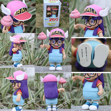 Hot Sale Anime Cartoon Dr.Slump Arale with Faeces PVC Action Figure Toy Doll 8