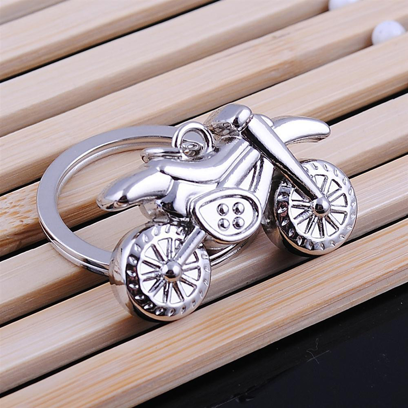 (12 pieces/lot)Hot Sale Classic 3D Simulation Model Motorcycle Motorbike Keychain Theme Party Keyring Favor and Gift