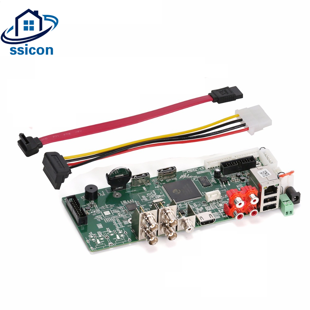 SSICON 4 Channel 5IN1 Security 4MP CCTV Camera DVR Hybird NVR Board For 4.0MP AHD CVI TVI Analog IP Camera 4CH Video RecorderSSICON 4 Channel 5IN1 Security 4MP CCTV Camera DVR Hybird NVR Board For 4.0MP AHD CVI TVI Analog IP Camera 4CH Video Recorder