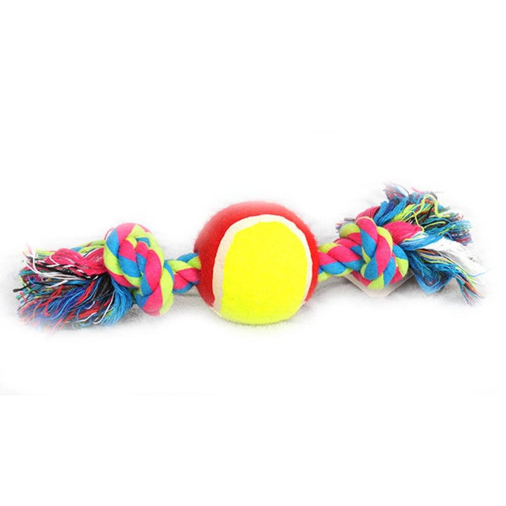 2017 Hot Sale Dog Toys Cotton Rope Ball Pet Dog Training -8012