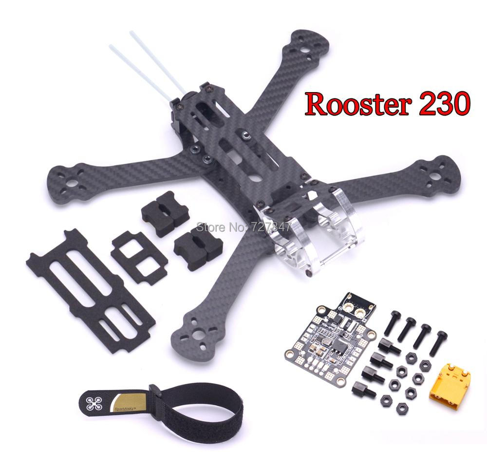 NEW Rooster 230 5 FPV Racing Drone Quadcopter Frame 5 Inch FPV Freestyle Frame XPW PDB Board For Rooster 230mm