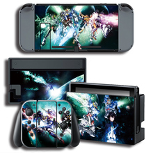 GUNDAM Skin Sticker for Nintendo Switch NS Console+Controller + Stand Holder Protective Film