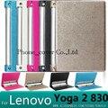 Para lenovo yoga 2 8.0 case case cubierta de cuero de lujo para lenovo yoga tablet 2 830 830l 830f 8.0 tablet funda + protector de pantalla
