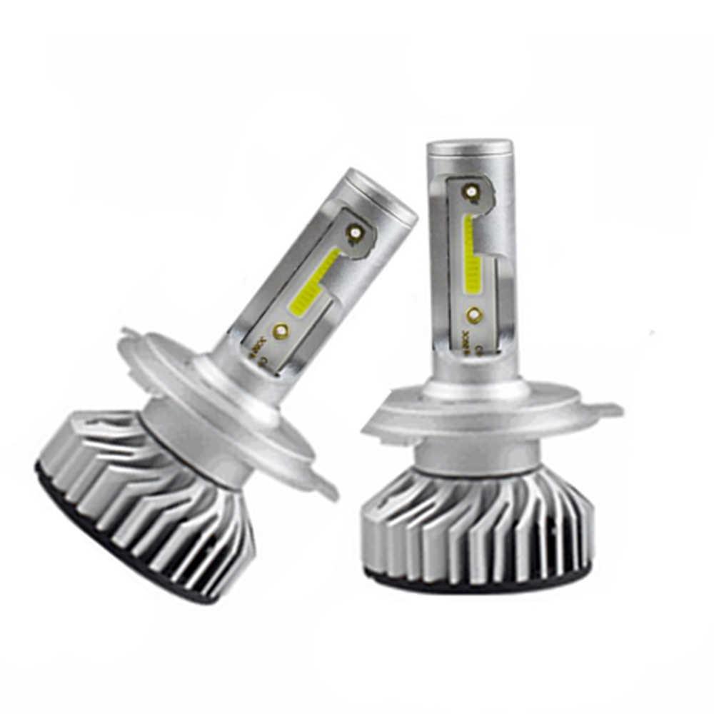 H7 LED H4 LED H11 de coche Canbus bombilla del faro 10000LM H8 H1 HB3 9005, 9006 de 880 H27 H9 100 K 6000 W 12 V 24 V Auto HB4 Led