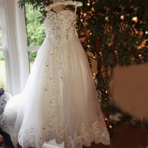 luxury first communion dresses for girls crystals beaded lace girls pageant dresses little bride dresses custom made any size