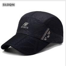 SILOQIN 2019 New Men Korean Style Baseball Cap Ms Summer Sunscreen Breathable Mesh Caps Adjustable Size Traveling Sunshade Hat