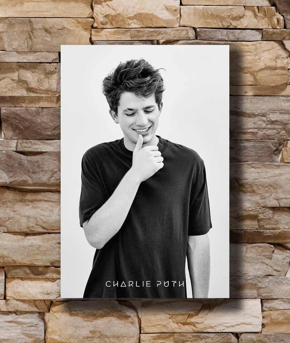 Art Poster New Charlie Puth Custom Pop Rock Music Singer Star Light Canvas Wall 14x21 20x30 24x36In N1033