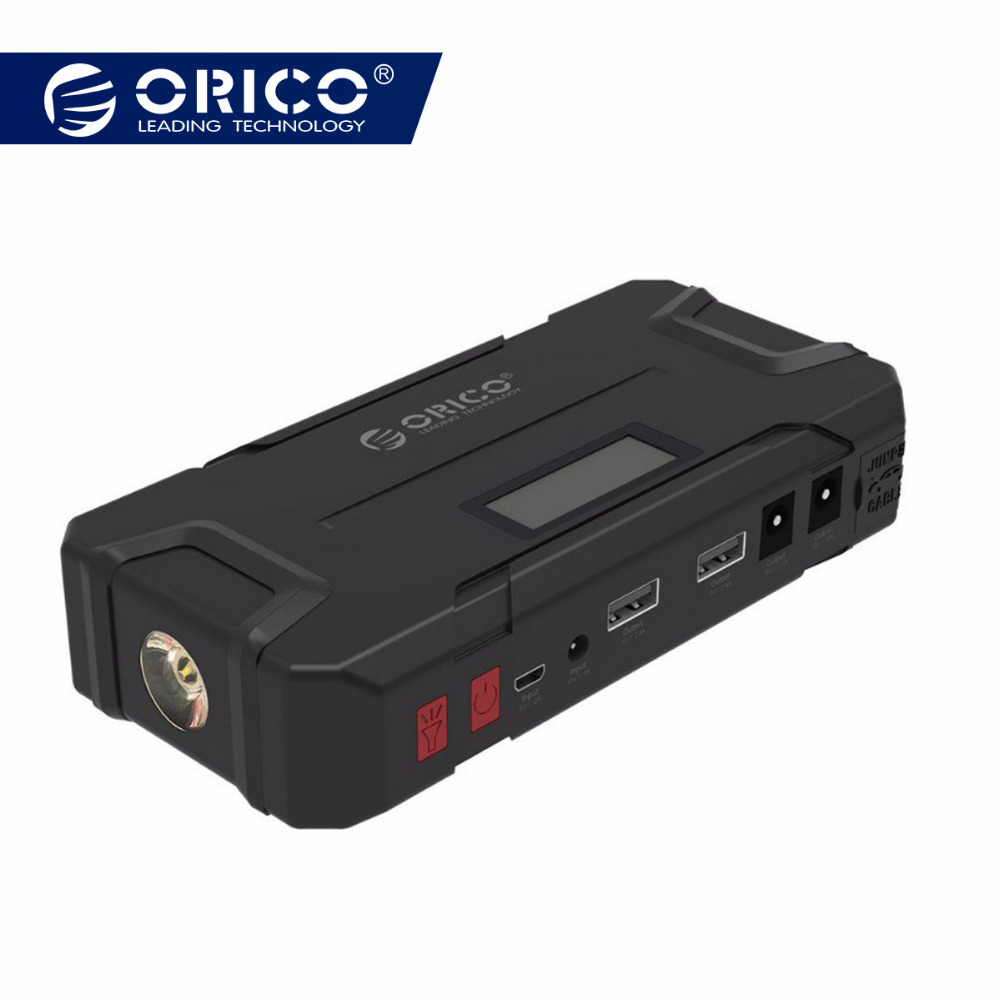 ORICO CS2 12000 mAh Mini Banco Do Poder de Emergência Portátil Bateria de Emergência Móvel Impulsionador Buster Power Bank Para O Telefone Portátil Carro