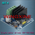 Free shipping,IBT-4 50A H-bridge High-power Motor Driver module/smart car