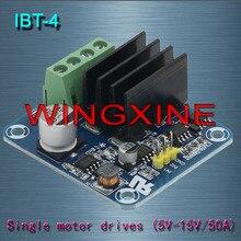 Бесплатная доставка, IBT-4 50A h-мост мощный Водитель Мотора модуль/smart car