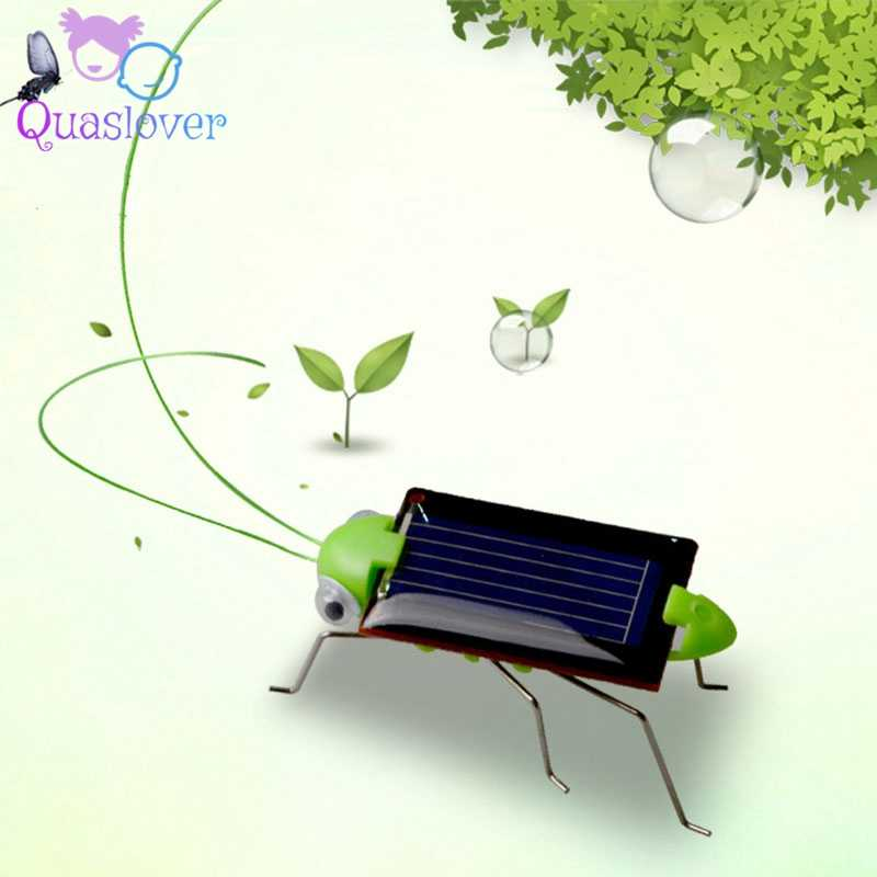 Energy Solar Power Kids Toys Mini Gadget News To Sell 2019 Grasshopper Car Educational Toy for For Kids Baby Solar Toys