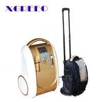 Xgreeo batería portátil concentrador de oxígeno 5L 90% pureza hogar coche y viajes al aire libre recomendado O2 generador
