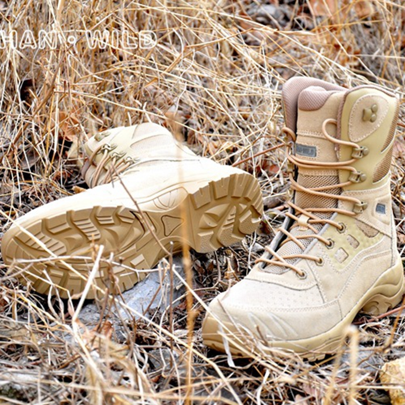 Desert shoes Combat Outdoor sport Military hiking trekking walking men Women Tactical boots outdoor sport tactical combat men boots cp camo male desert botas hiking travel leather high military enthusiasts marine shoes