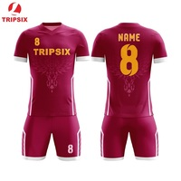 Sublimated High School Custom Design Football Jersey Sports Soccer Kit Maker Football Uniform