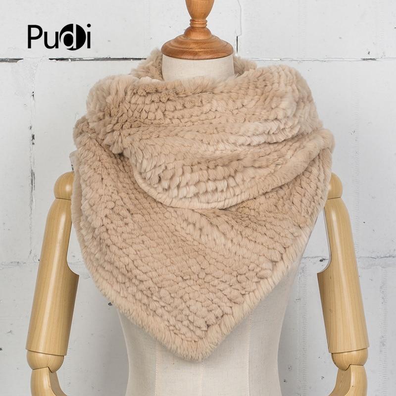 Здесь продается  Pudi SF750 The new women  real rex rabbit fur pashmina shawl warp scarf scarves  2017 winter new real fur scarf  Одежда и аксессуары