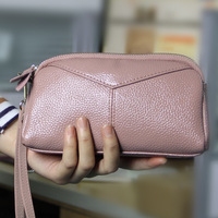 New Arrival Wallets Fashion Women Wallets Multifunction High Quality Small Wallet Purse Short Design GenuineLeather Freeshipping
